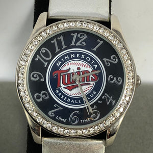 Game Time Twins Crystal Glitz Series quartz Watch